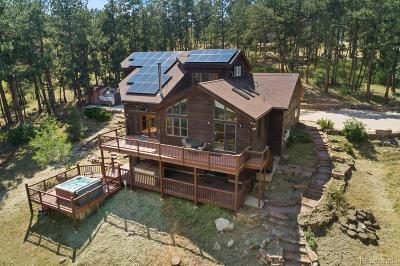 Boulder Single Family Home Active: 4321 Lee Hill Drive