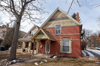 Denver Single Family Home Active: 2351 Hooker Street