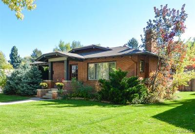 Fort Collins Single Family Home Active: 1101 West Oak Street