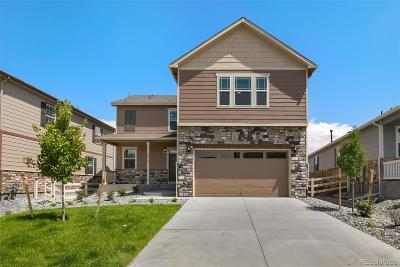 Castle Rock Single Family Home Under Contract: 6078 Sun Mesa Circle