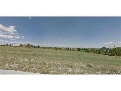 Castle Rock Residential Lots & Land Active: 1647 White Fir Terrace