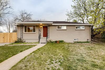 Wheat Ridge Single Family Home Under Contract: 3090 Reed Street
