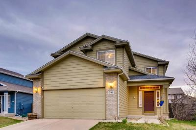 Castle Rock Single Family Home Under Contract: 791 Pitkin Way