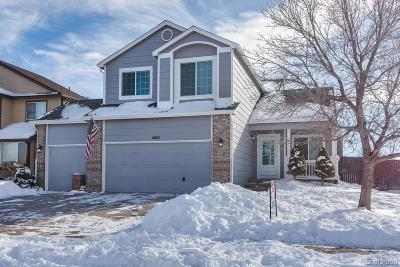 Castle Rock Single Family Home Under Contract: 4410 Decatur Avenue