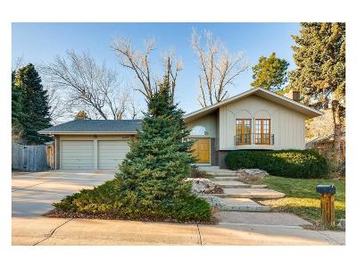 Aurora, Denver Single Family Home Active: 11090 East Wesley Place