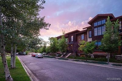 Steamboat Springs Condo/Townhouse Active: 78 Park Place