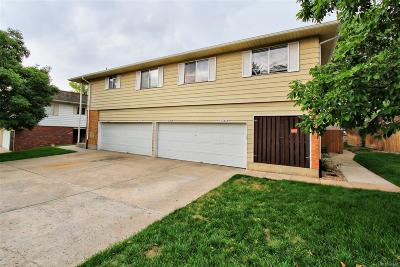 Thornton Condo/Townhouse Under Contract: 9747 Croke Drive