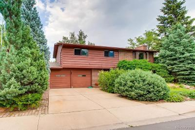 Boulder County Single Family Home Active: 1390 Ithaca Drive