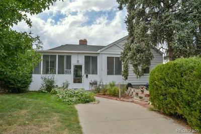 Denver Single Family Home Active: 2611 South Humboldt Street