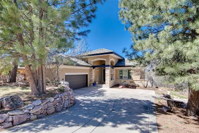 Castle Rock Single Family Home Under Contract: 2909 Fairway View Court