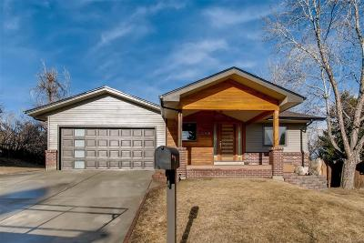 Lakewood Single Family Home Active: 1258 South Yank Court