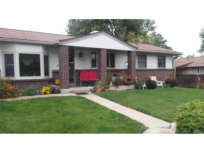 Arvada Single Family Home Under Contract: 7547 Quay Street