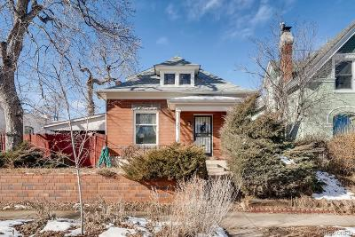 Denver Single Family Home Active: 837 South Grant Street