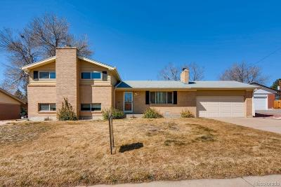 Northglenn Single Family Home Under Contract: 10777 Livingston Drive
