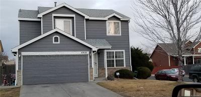 Denver Single Family Home Under Contract: 4958 Eureka Court