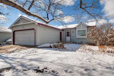 Longmont Single Family Home Under Contract: 2017 Spencer Street