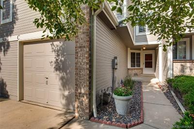 Aurora Condo/Townhouse Active: 5063 South Elkhart Way #C
