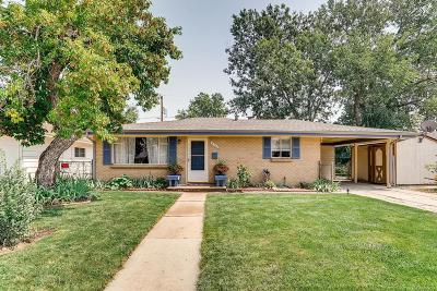 Wheat Ridge Single Family Home Under Contract: 4720 Dudley Street