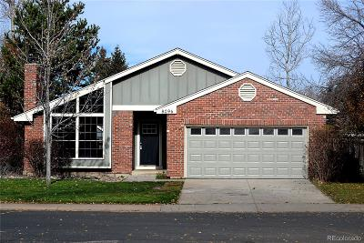 Centennial CO Single Family Home Under Contract: $549,000