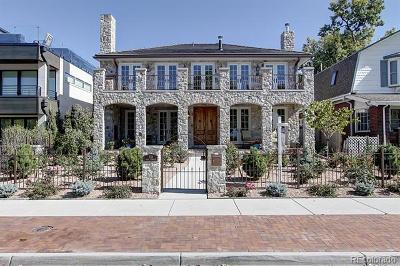 Denver CO Single Family Home Active: $4,250,000