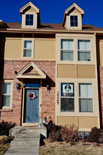 Lone Tree Condo/Townhouse Under Contract: 10269 Bellwether Lane