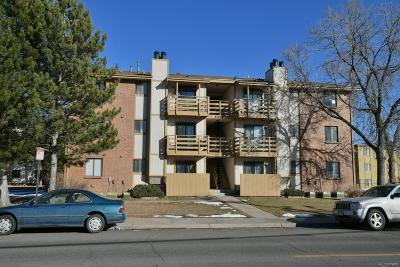 Denver Condo/Townhouse Under Contract: 1358 South Irving Street #8