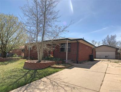 Northglenn Single Family Home Active: 11933 Claude Way