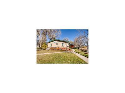 Denver Single Family Home Active: 2606 South Josephine Street
