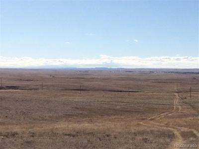 Elbert County Residential Lots & Land Active: County Road 169