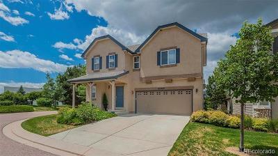 Colorado Springs Single Family Home Active: 11437 White Lotus Lane