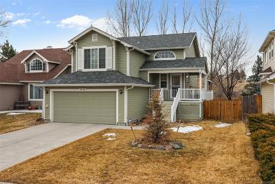 Parker Single Family Home Under Contract: 21744 Silver Meadow Lane