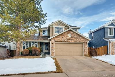 Highlands Ranch CO Single Family Home Under Contract: $469,900