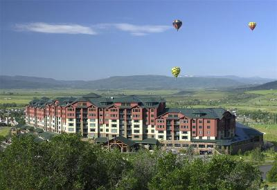 Steamboat Springs Condo/Townhouse Active: 2300 Mount Werner #357