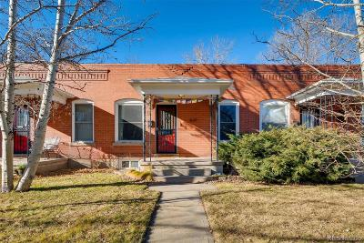 Denver Condo/Townhouse Active: 1639 South Emerson Street
