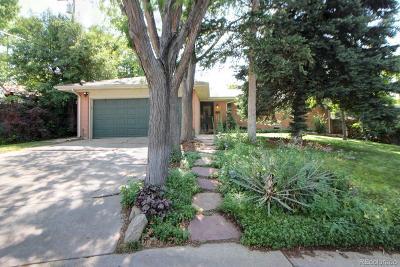 Centennial Single Family Home Under Contract: 7077 South Verbena Circle