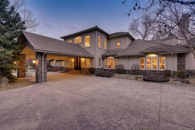 Cherry Hills Village CO Single Family Home Under Contract: $2,300,000