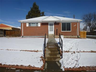 Northglenn Single Family Home Under Contract: 295 Pike Street