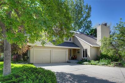 Boulder Single Family Home Active: 843 Racquet Lane