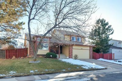 Denver Single Family Home Under Contract: 18930 East Chaffee Place