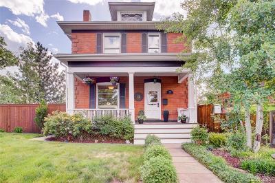 Denver Single Family Home Active: 693 South Logan Street