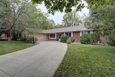 Lakewood Single Family Home Under Contract: 12275 West Applewood Knolls Drive