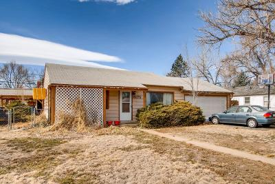 Arvada Single Family Home Under Contract: 5175 Dudley Street