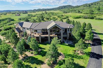 Castle Rock CO Single Family Home Active: $2,985,000