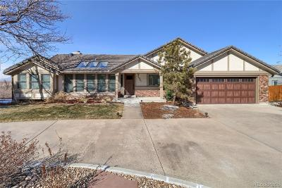 Arvada Single Family Home Under Contract: 12087 West 54th Drive