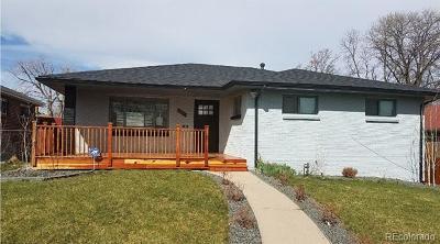 Park Hill, Parkhill Single Family Home Active: 3637 Jasmine Street
