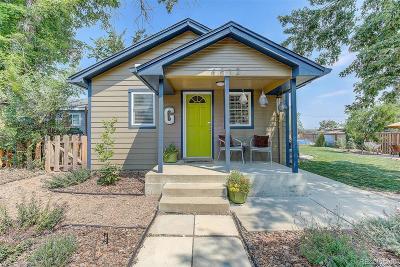 Denver Single Family Home Active: 4812 Newton Street