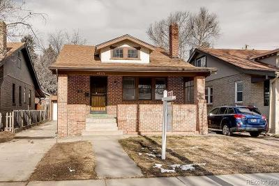 Denver Single Family Home Active: 4035 Batavia Place