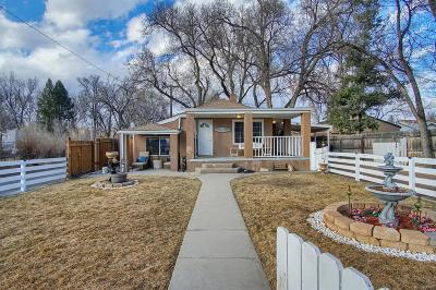 Colorado Springs Single Family Home Under Contract: 2432 East Monument Street