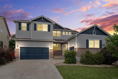 Castle Rock Single Family Home Under Contract: 3515 Golden Spur Loop