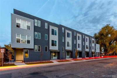 Denver Condo/Townhouse Active: 1460 Wolff Street #101